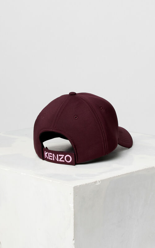 BORDEAUX Neoprene Tiger cap for unisex KENZO
