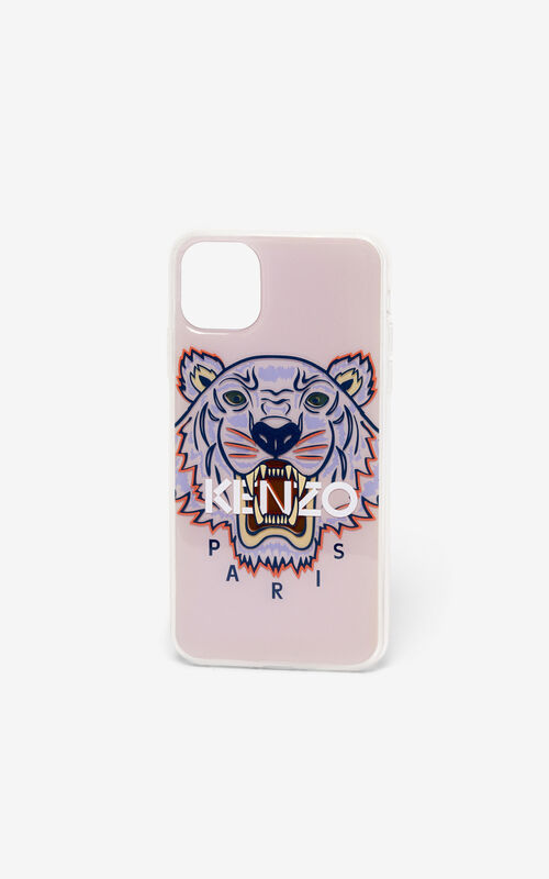 FADED PINK iPhone XI Pro Max Tiger case for unisex KENZO