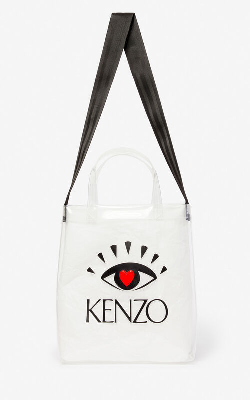 a7d9f8d9500 WHITE 'I ❤ KENZO Capsule' tote bag for unisex ...