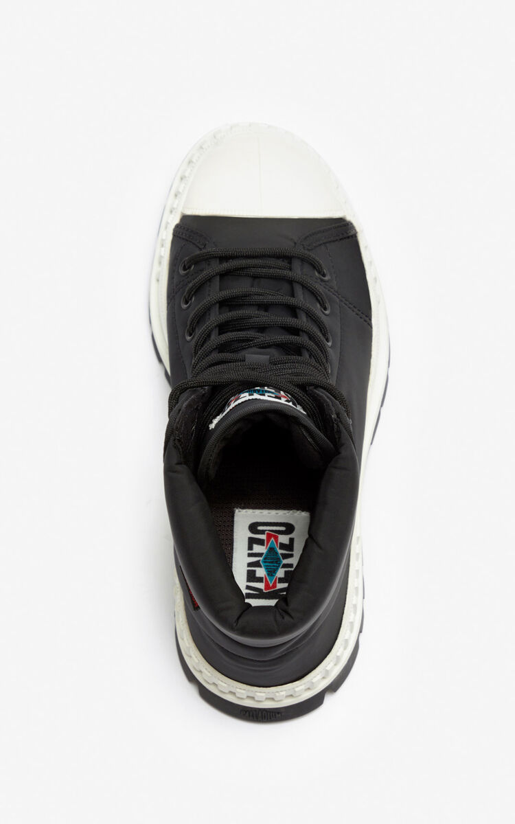 BLACK HIGH PALLADIUM 'PALLASHOCK' by KENZO for unisex