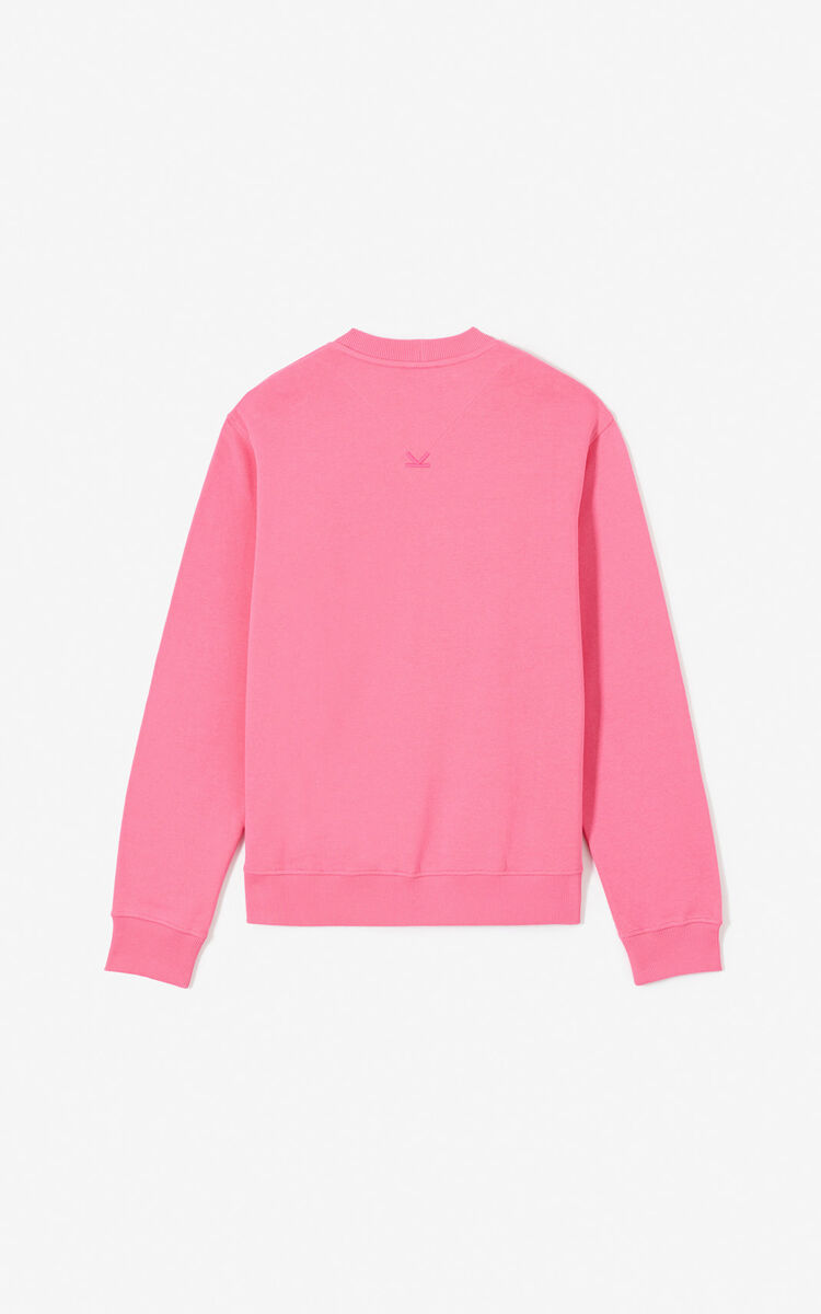 DEEP FUSCHIA 'KENZO Mountain' sweatshirt for men