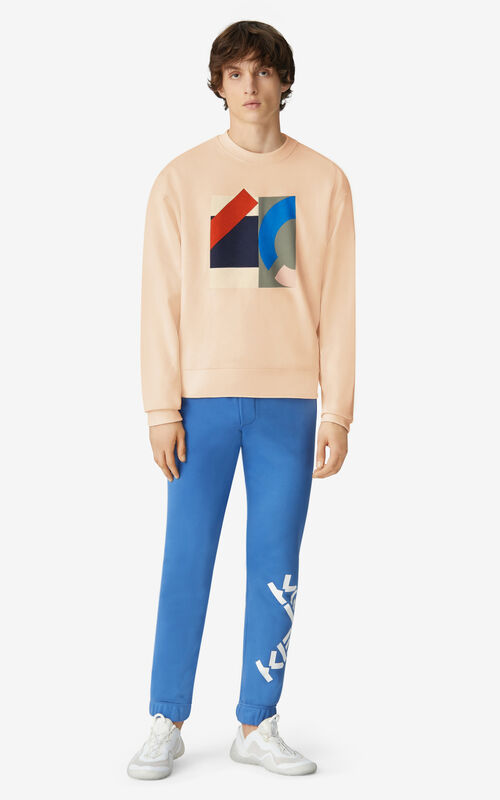 BLUSH KENZO Sport oversize sweatshirt for men