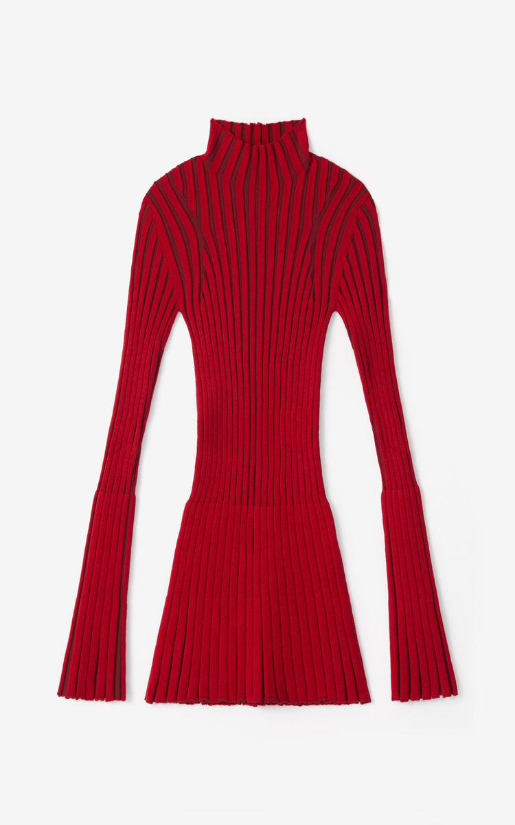 MAGENTA Pleated jumper for women KENZO