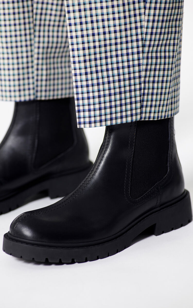 BLACK Chelsea Pike Boots for men KENZO