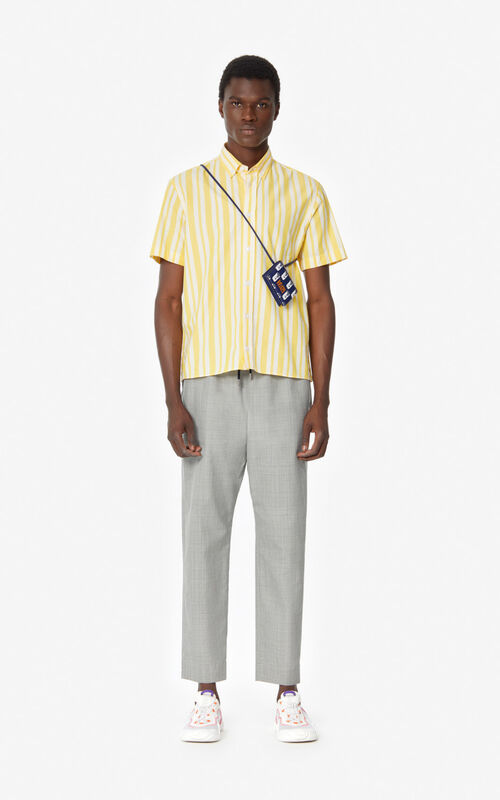 MISTY GREY Tapered trousers  for men KENZO