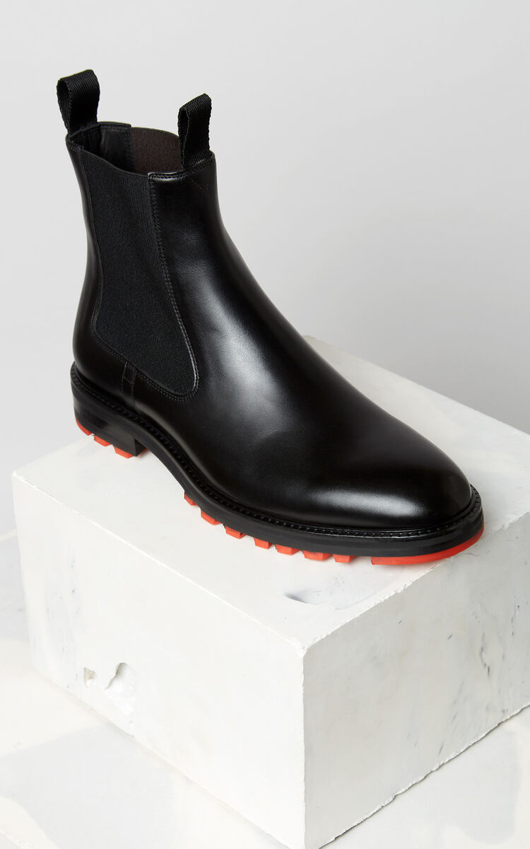 BLACK Georgia ankle boots for unisex KENZO