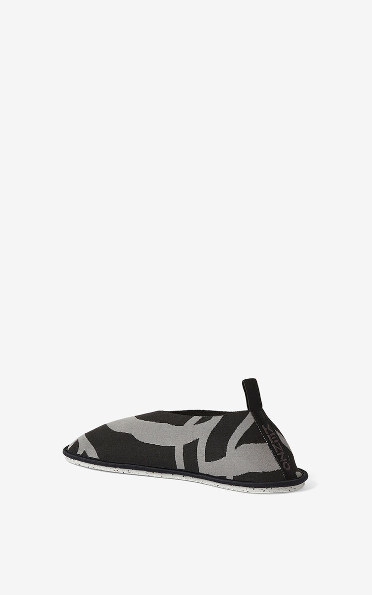 BLACK K-Tiger K-Knit loafers for women KENZO