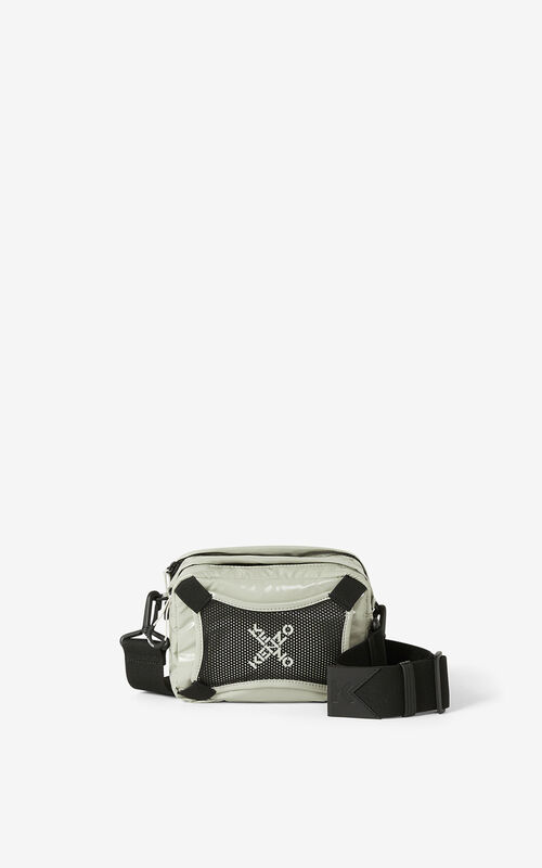 DOVE GREY KENZO Sport shoulder bag for unisex