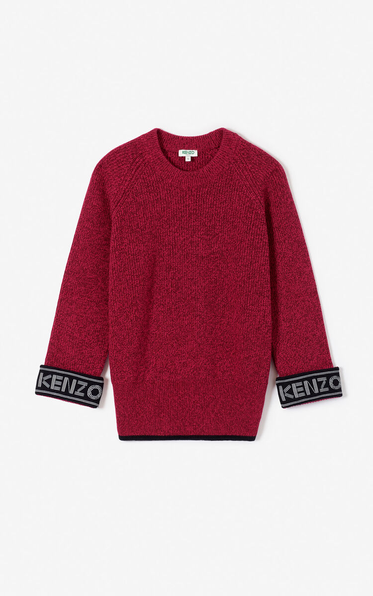 PRUNE KENZO Logo jumper for women