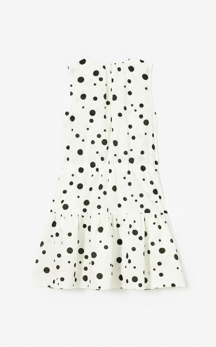 BLACK 'Dots' skater dress for women KENZO