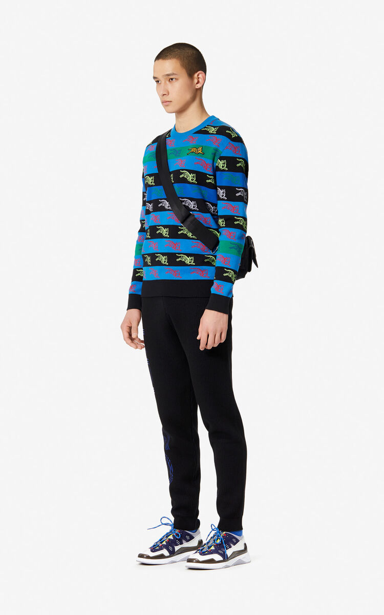 MULTICOLOR 'Jumping Tiger' jumper for men KENZO