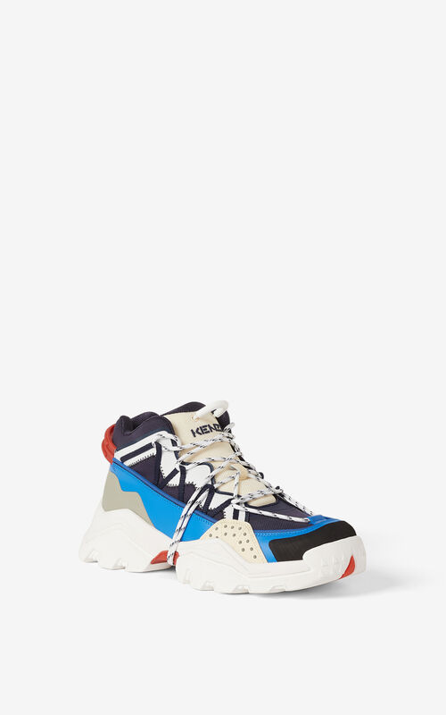 MIDNIGHT BLUE Inka sneakers for unisex KENZO
