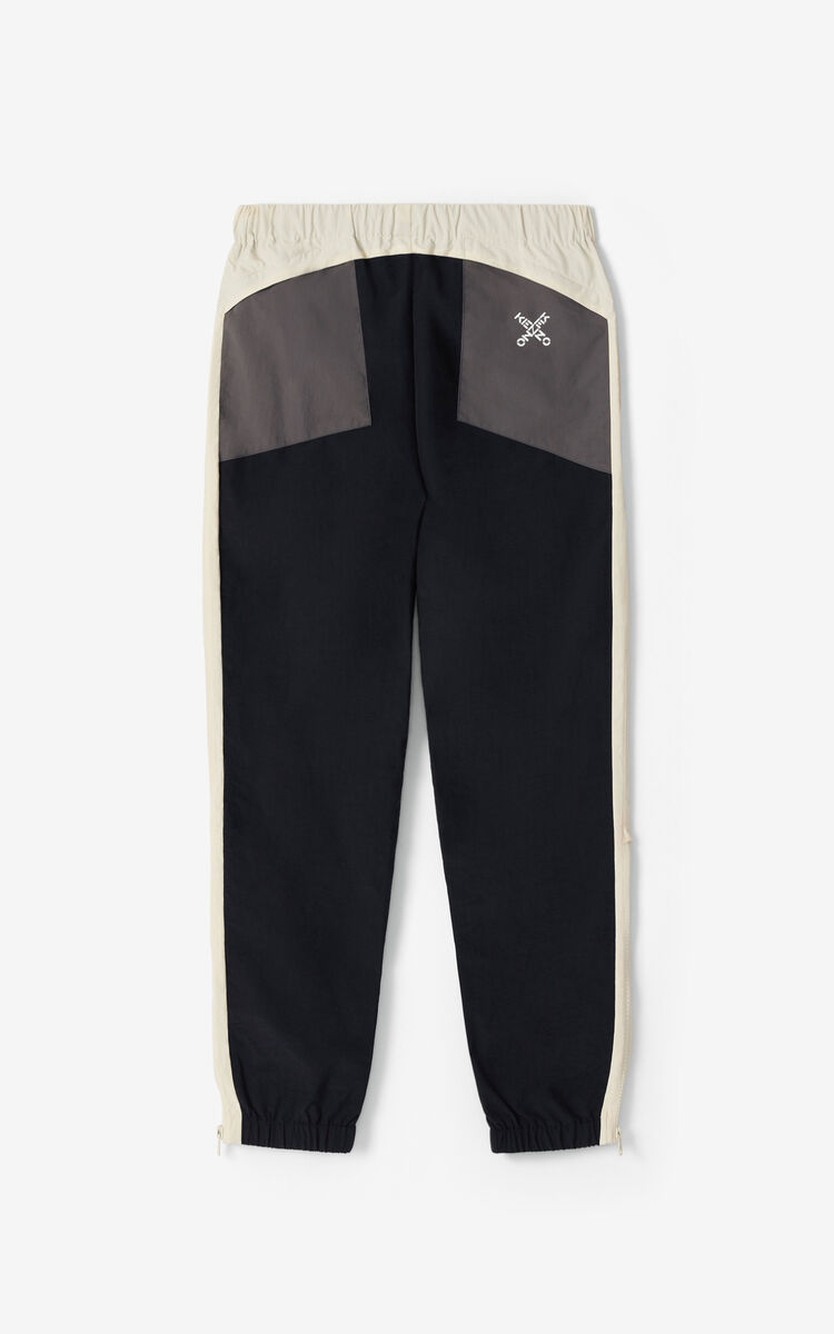 BLACK KENZO Sport joggers for men