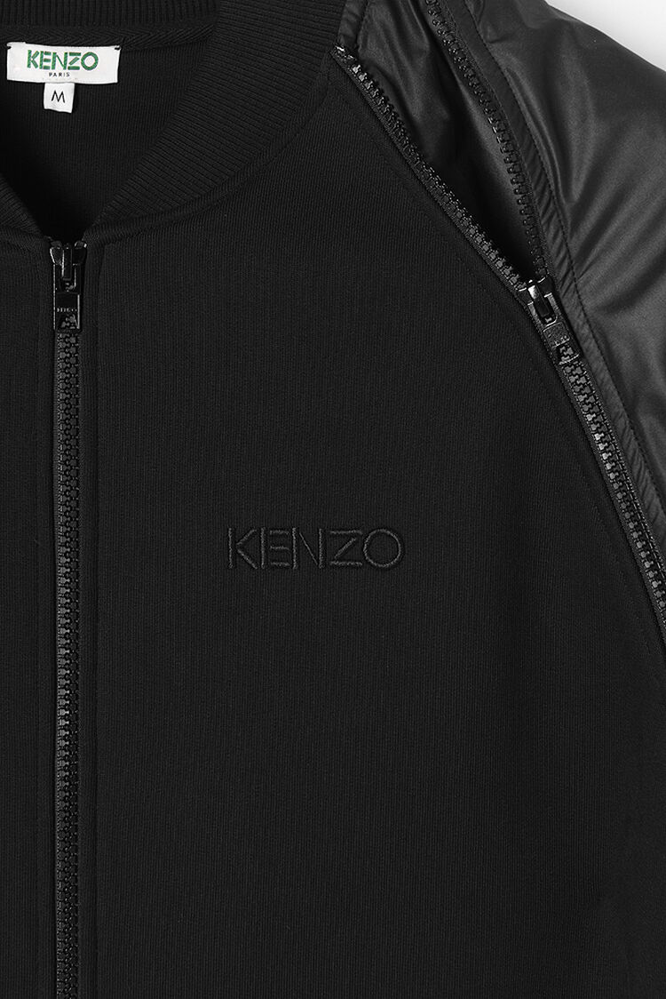 BLACK Track jacket for men KENZO