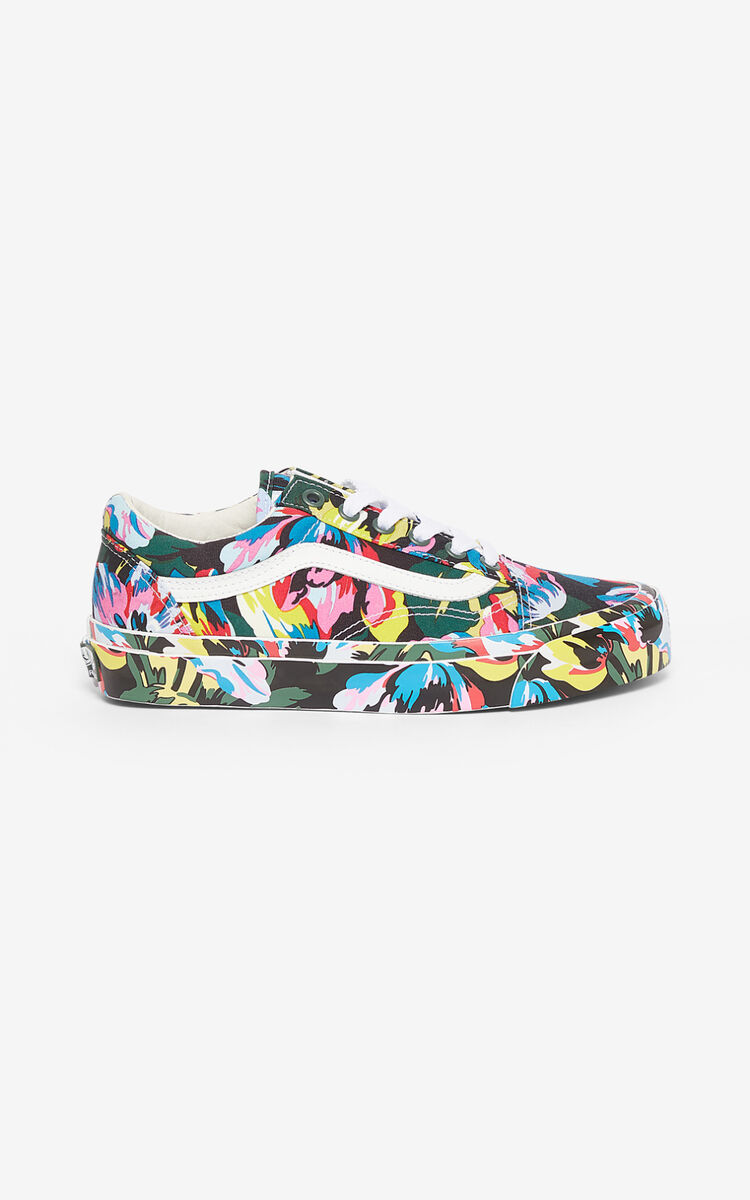 BLACK OLD SKOOL 'Tulipes' KENZO/VANS sneakers  for women