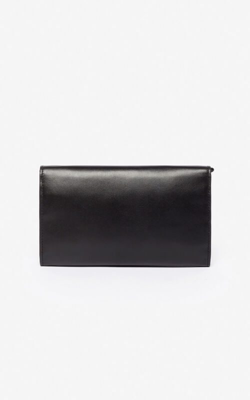 BLACK Wallet on Chain Kontact Eye for unisex KENZO