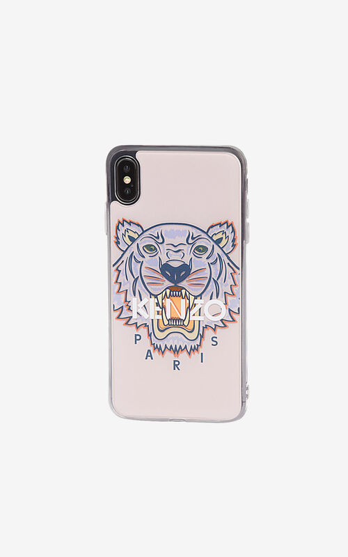 FADED PINK iPhone XS Max Tiger case for unisex KENZO