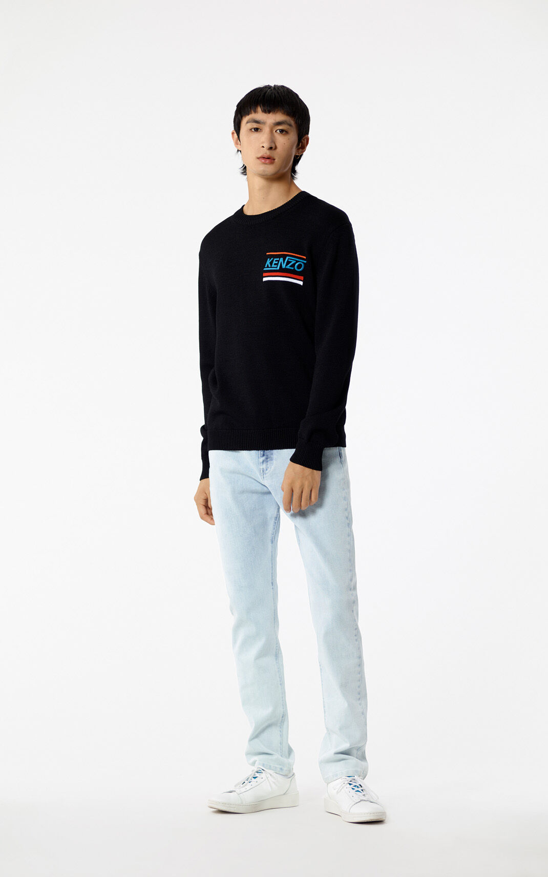BLACK 'Hyper KENZO' jumper for men