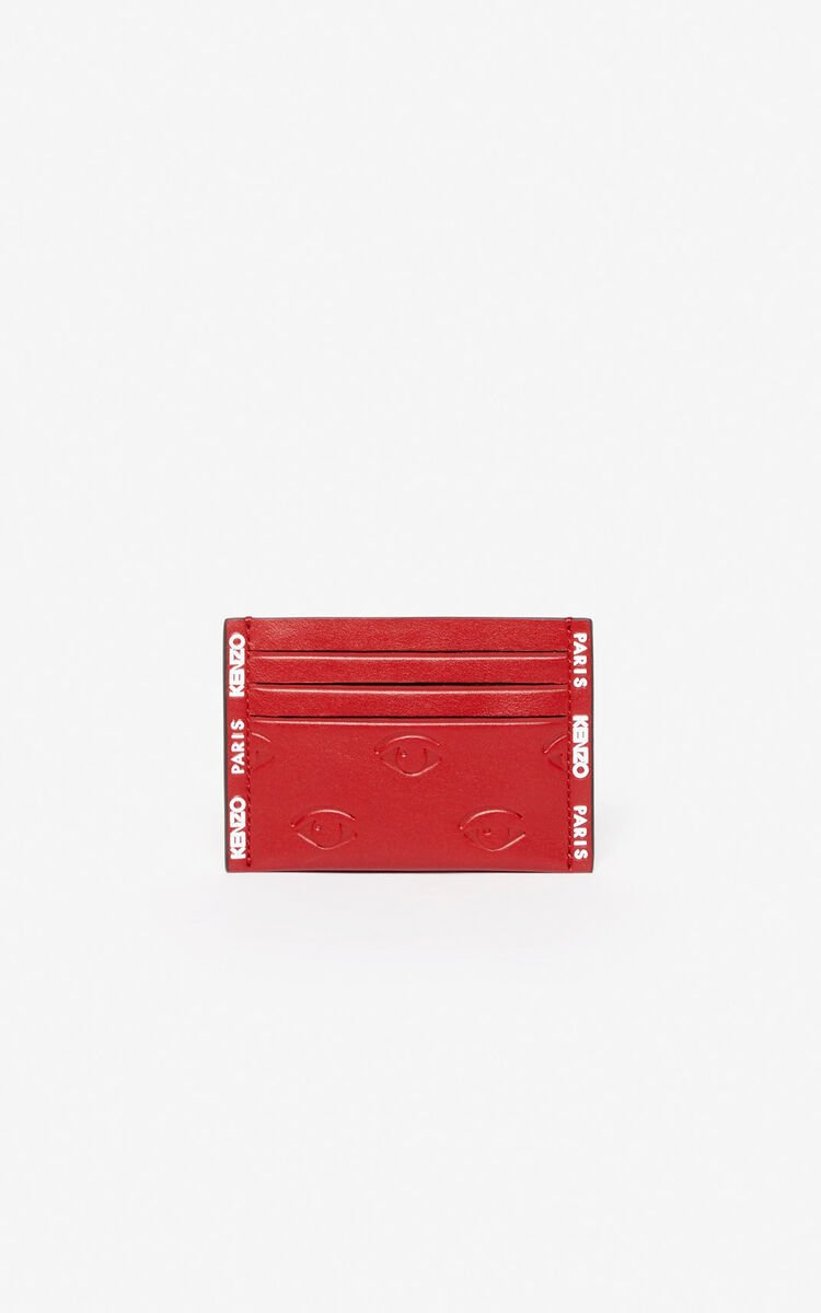 CHERRY Multi-Eye card holder for unisex KENZO