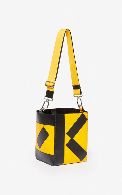 MARIGOLD Kube small tote bag for unisex KENZO