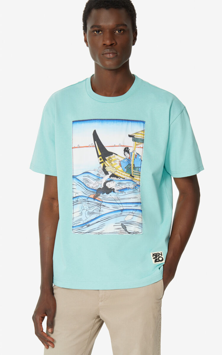 AQUA 'Ama Diver' T-shirt for men KENZO