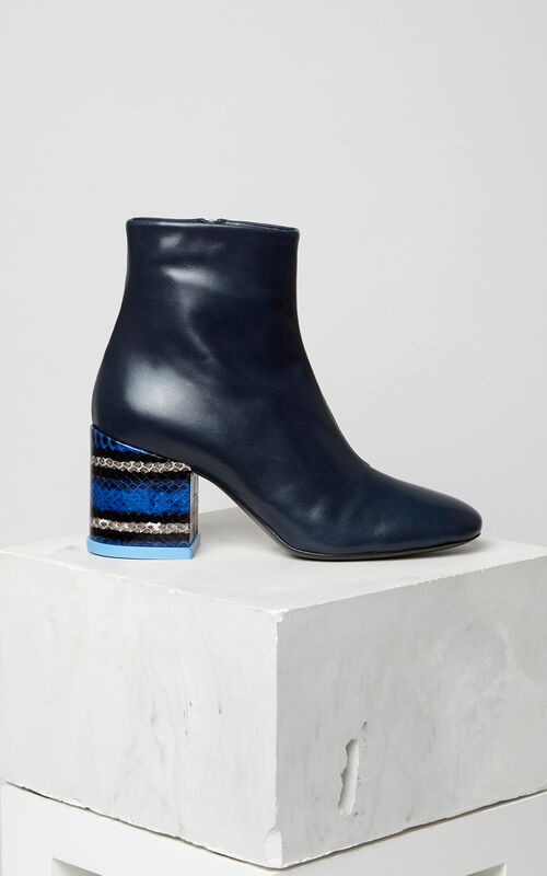 NAVY BLUE Daria boot for women KENZO