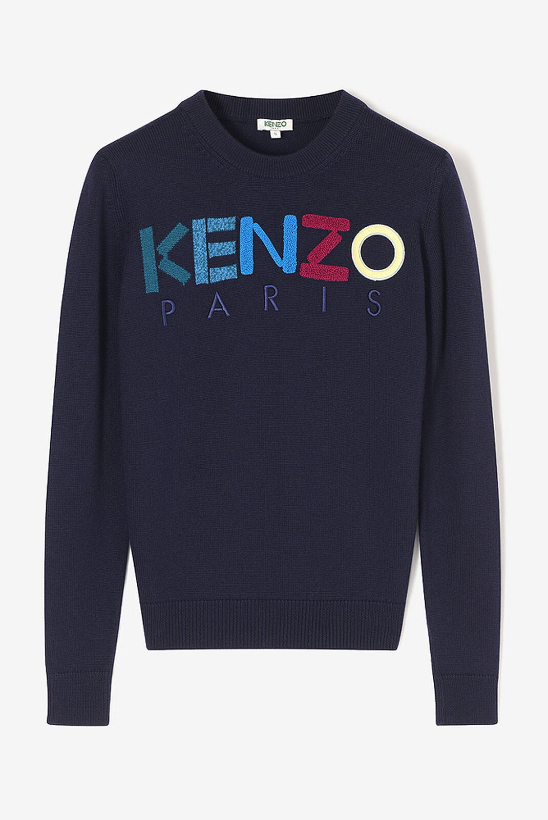 NAVY BLUE KENZO Paris Sweater  for women
