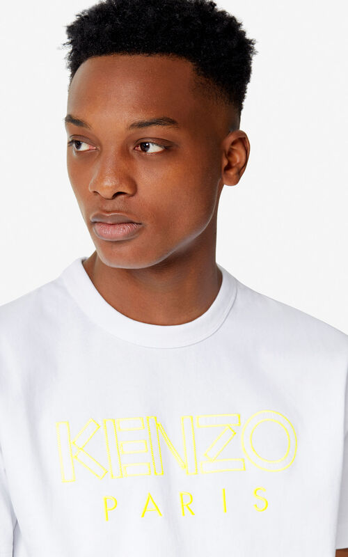 WHITE KENZO Paris T-shirt 'High Summer Capsule collection' for men