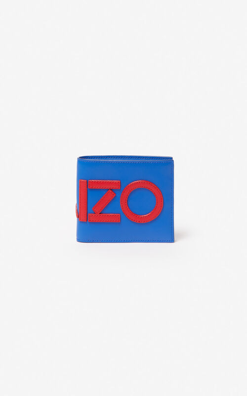 COBALT KENZO colorblock wallet for men
