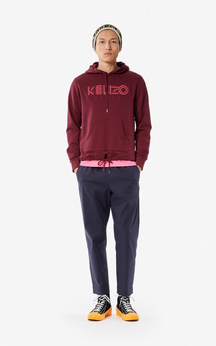 BORDEAUX KENZO Paris 'Hiking' hoodie for men