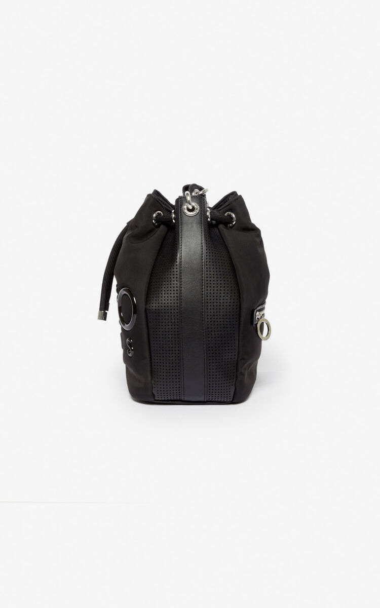 BLACK Kombo bucket bag for women KENZO