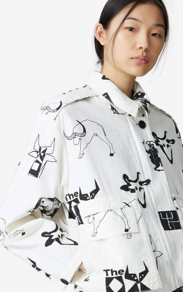 OFF WHITE 'Sign & Symbol' jacket for women KENZO