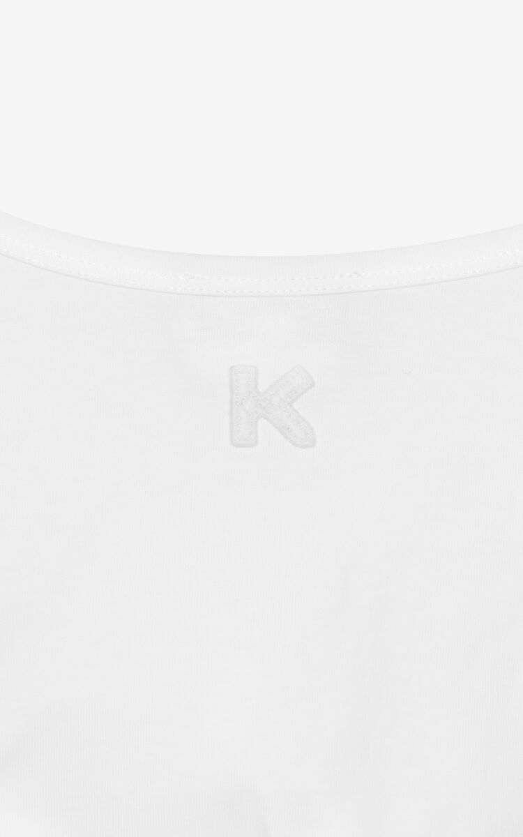 OFF WHITE Mesh vest top for women KENZO