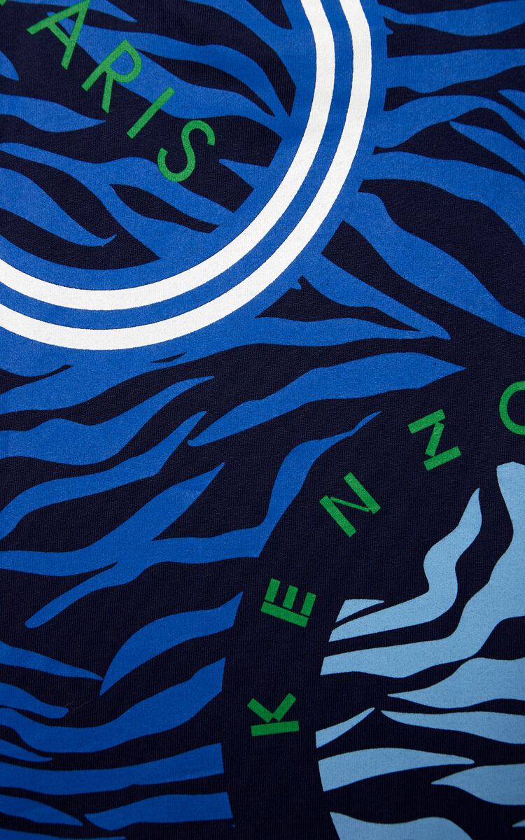 NAVY BLUE 'Tiger Friends' t-shirt for men KENZO