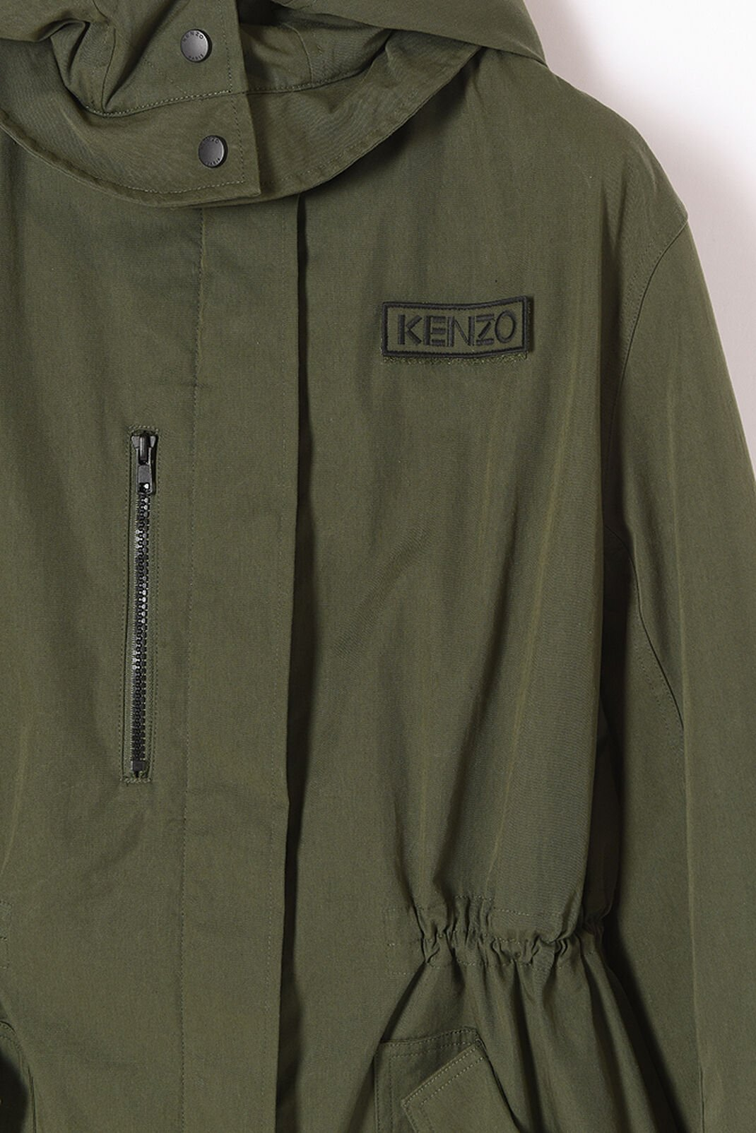 DARK KHAKI Utility' Parka for women KENZO