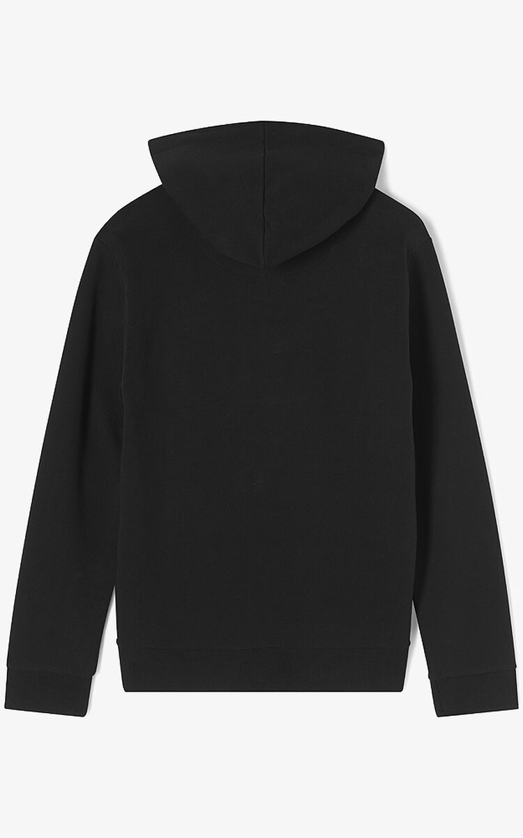 BLACK Eye Hoodie for unisex KENZO