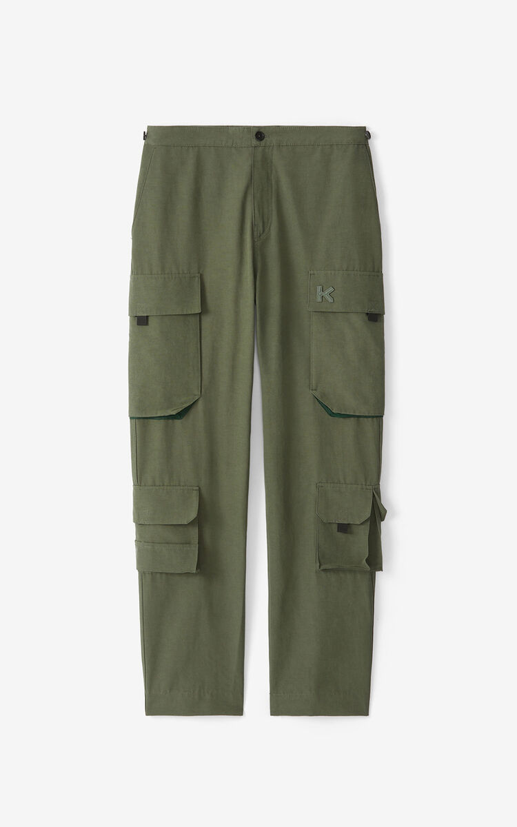 FERN Cargo trousers for men KENZO