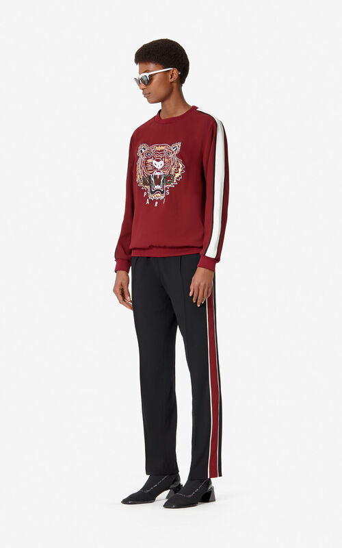 BLACK Fluid crepe trousers for women KENZO