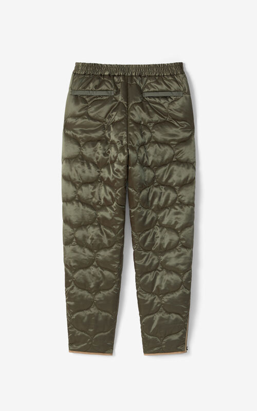 FERN Quilted joggers for unisex KENZO