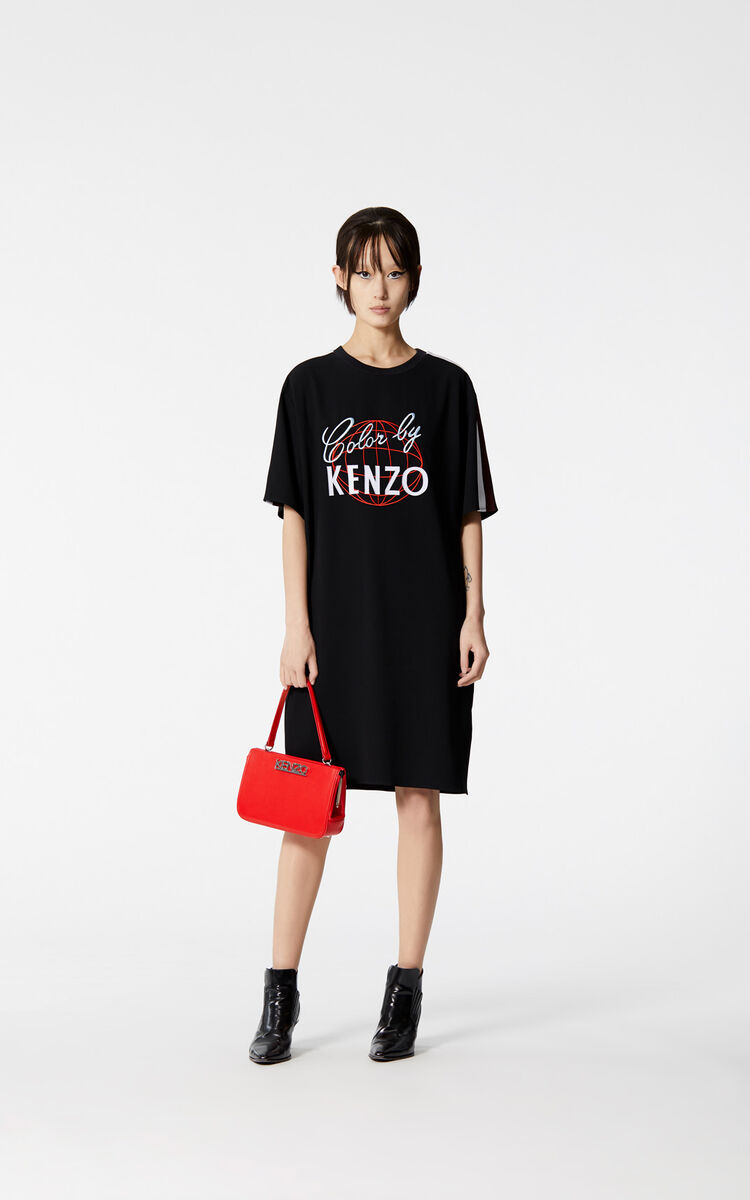 d3cb4bc38d Color by KENZO  satin dress for LAST CHANCE Kenzo