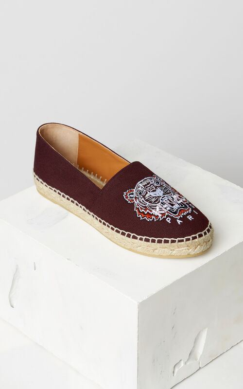 BORDEAUX Tiger espadrilles for women KENZO
