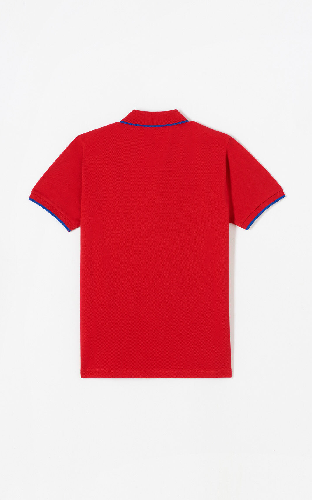 MEDIUM RED Tiger polo shirt for men KENZO