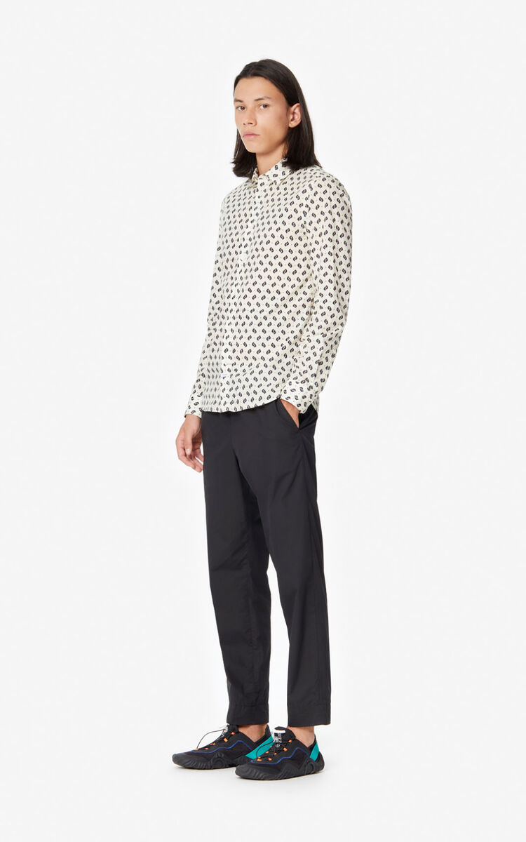 OFF WHITE 'Ikat' slim-fit shirt for men KENZO