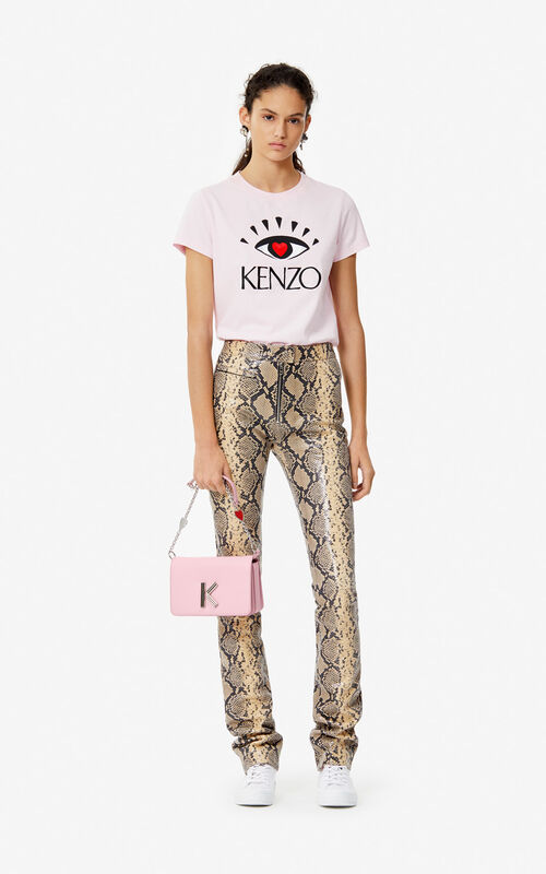 FLAMINGO PINK 'I ❤ KENZO Capsule' T-shirt for women