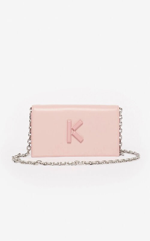 FADED PINK Wallet on Chain Kandy for women KENZO