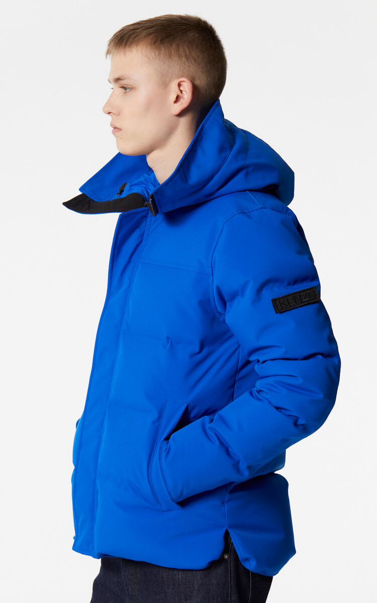 FRENCH BLUE Quilted down jacket for men KENZO