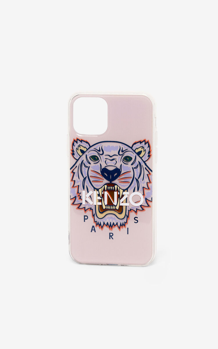 FADED PINK Tiger iPhone XI Pro case for unisex KENZO