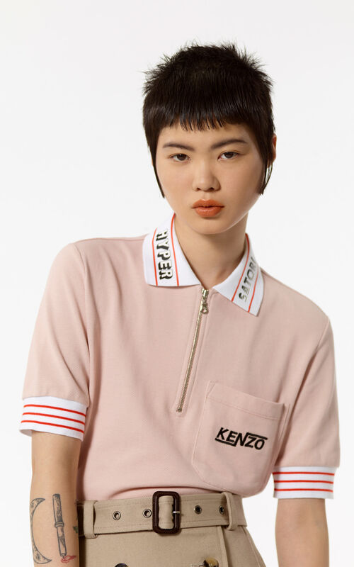 SKIN 'Hyper KENZO' zipped polo for women