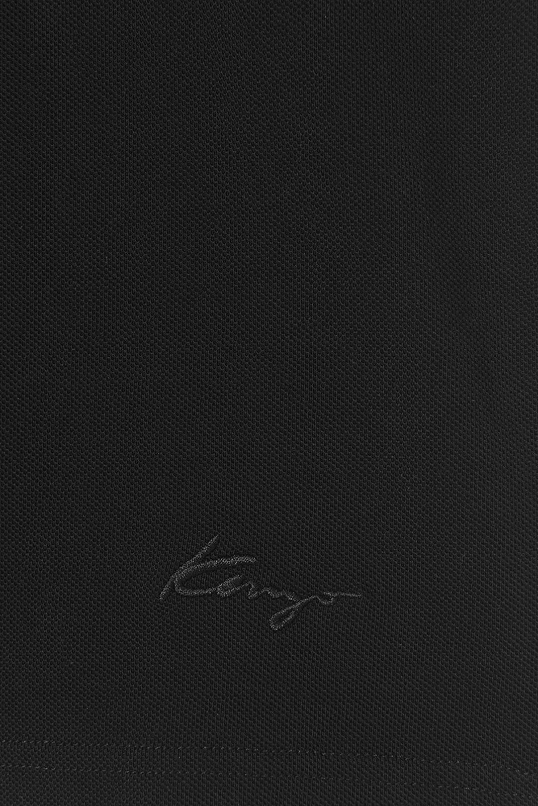 BLACK Polo KENZO Signature for men