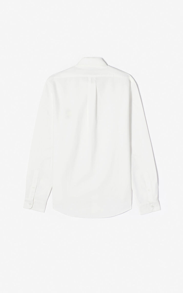 WHITE 'Cupid' casual shirt 'Capsule Back from Holidays' for women KENZO